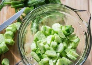 Салат с огурцом и йогуртом - 0