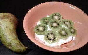 Десерт из творога и фруктов - 2