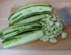 Салат из переросших огурцов на зиму - 0