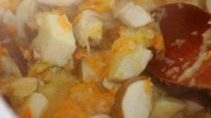 Суп из белых грибов со сливками - 1