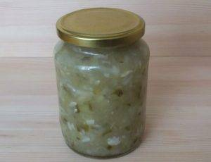 Салат из переросших огурцов на зиму - 3