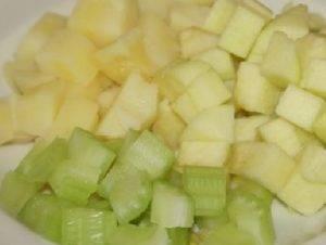 Салат картофельный с яблоками - 0