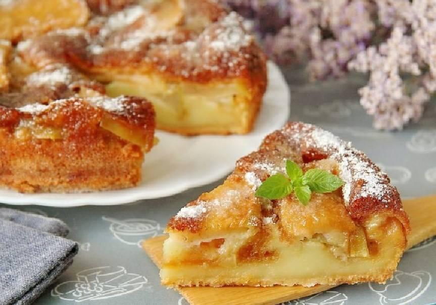 Рецепт Парижский яблочный пирог