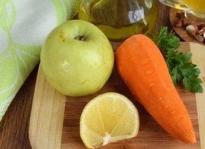 Салат из моркови и яблока - 0