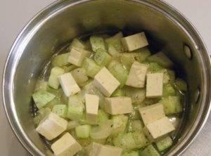 Суп из кабачков с сыром - 2