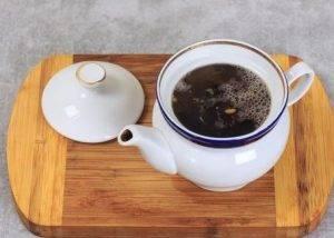 Пунш с виноградным соком и чаем - 0