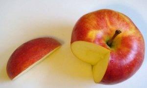 Фигурка из яблока - 0