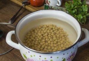 Суп с фрикадельками и нутом - 0