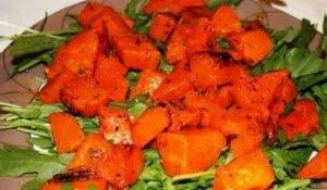 Салат с тыквой и грецкими орехами - 0