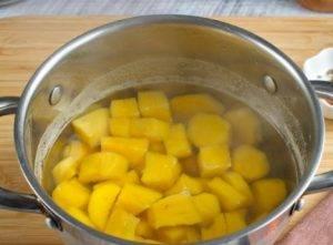 Крем-суп из сладкого картофеля - 0