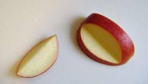 Фигурка из яблока - 1