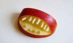 Фигурка из яблока - 2