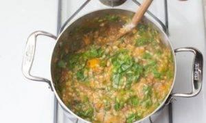 Суп с бараниной, тыквой и перловкой - 2