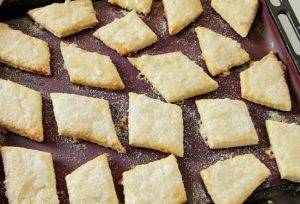 Слоеное печенье на сметане - 3