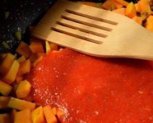 Томатно-тыквенный суп