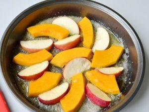 Тарт татен с тыквой и яблоком - 2