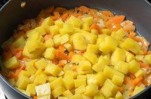 Овощное рагу с сыром - 1