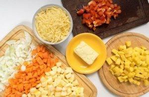 Овощное рагу с сыром - 0