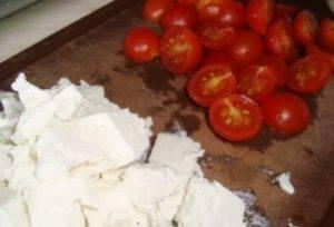 Салат со шпинатом и лососем - 1