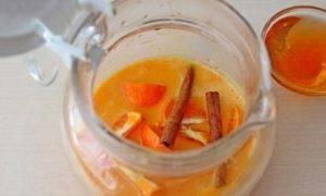 Облепиховый чай с апельсином и корицей - 2