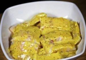Треска в горчичном маринаде - 1