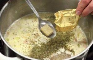 Гороховый суп с копченой грудинкой и колбасой - 2