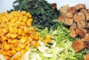 Салат из пекинской капусты без майонеза - 2