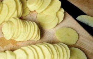 Картофель с шампиньонами в духовке - 0