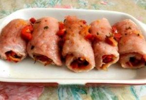 Рулеты из свинины с начинкой - 2