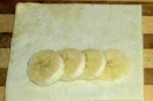 Слойки с бананом - 1