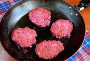 Мясные гречаники со свеклой - 2