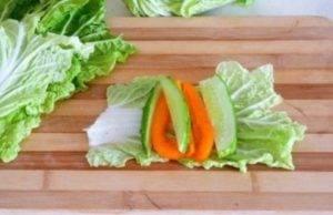 Овощные рулетики на завтрак - 0