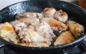 Куриные крылышки в имбирном соусе - 0