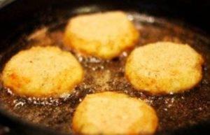 Картофельные котлеты с рисом - 1