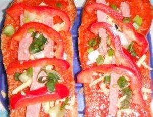 Бутерброд-пицца - 1