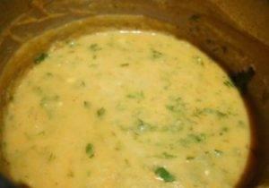 Овощной суп-пюре с сыром - 1