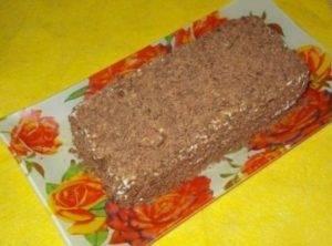 Творожный торт с печеньем без выпекания - 2