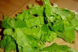 Салат с морской капустой и огурцом - 0