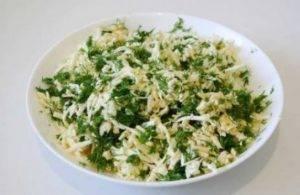 Пирог из лаваша с сыром и зеленью - 0