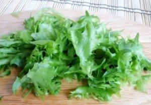 Салат с креветками, кукурузой и авокадо - 1