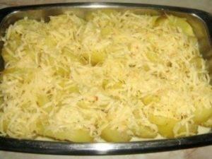 Картошка в сырном соусе - 2