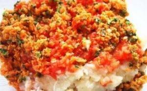 Рыбно-овощные оладьи - 0
