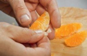 Шарлотка с мандаринами - 0