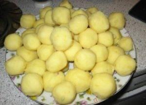 Картофельные шарики из вчерашнего пюре - 1