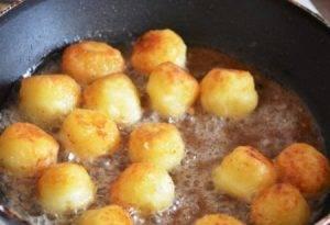 Картофельные шарики из вчерашнего пюре - 2