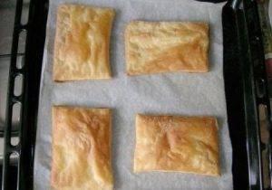 Слоеное пирожное со сгущенкой - 0