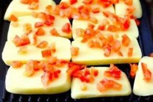 Печеный сыр к завтраку - 1