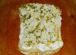 Закусочный слоеный торт - 2