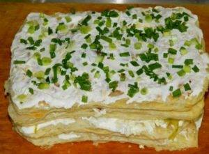 Закусочный слоеный торт - 3