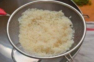 Закуска с рисом